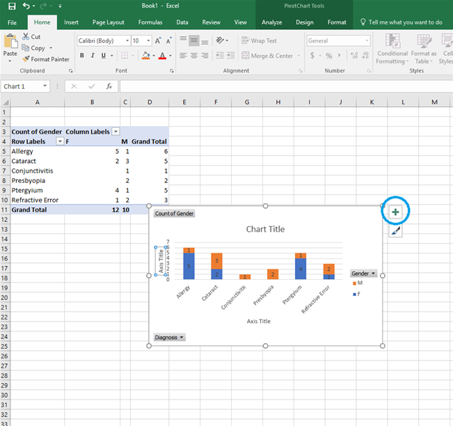 Analyzing Data in Excel